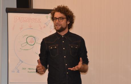 Edwin presenting a workshop